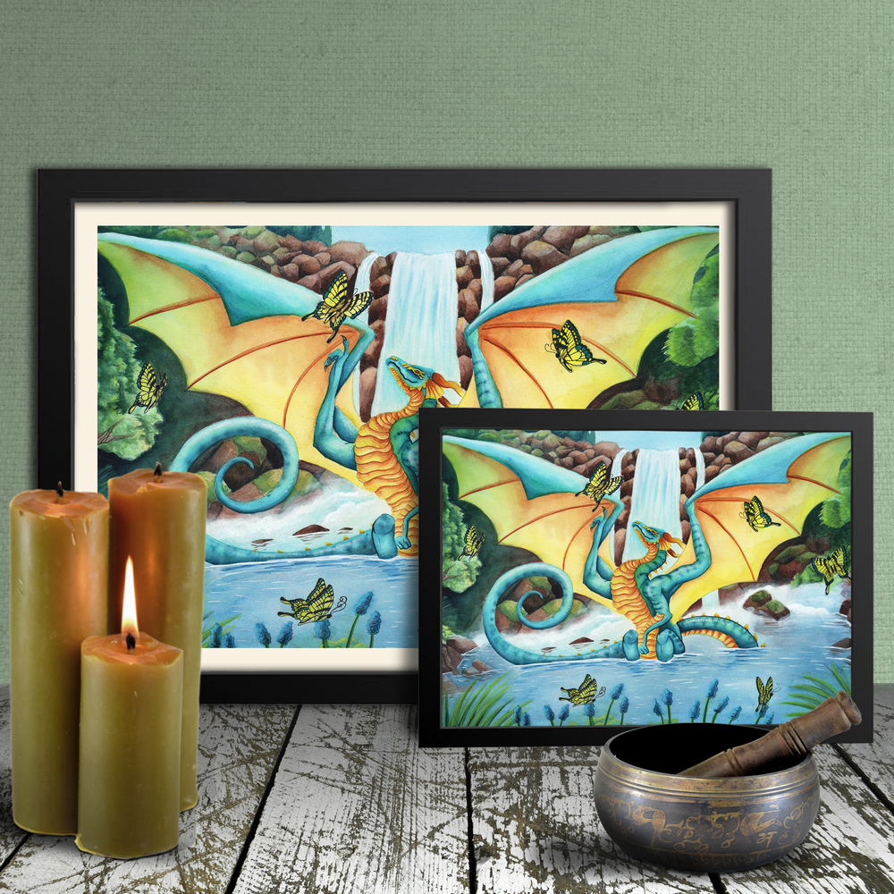 Load image into Gallery viewer, Summer Flutters Giclée Prints