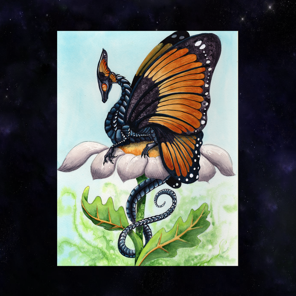 Load image into Gallery viewer, The Monarch Giclée Prints