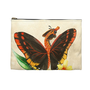 Load image into Gallery viewer, Enchanted Blossoms: I am Grace Dragon Accessory Pouch
