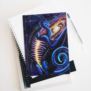 Load image into Gallery viewer, Galactic Entrancement Rule Lined Journal