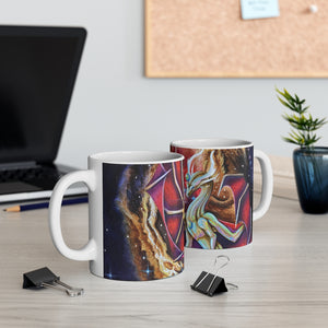 Load image into Gallery viewer, Echoes of Light Full Wrap 11oz Mug