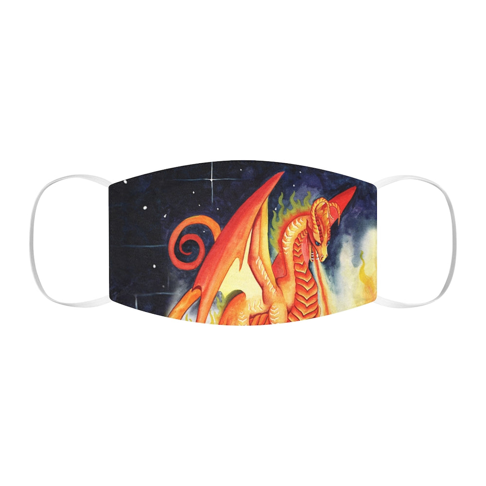 Dragon Oracle Fire Dragon Snug-Fit Polyester Face Mask
