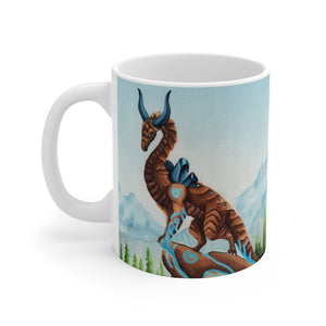 Load image into Gallery viewer, Dragon Oracle: Earth Dragon 11oz Mug