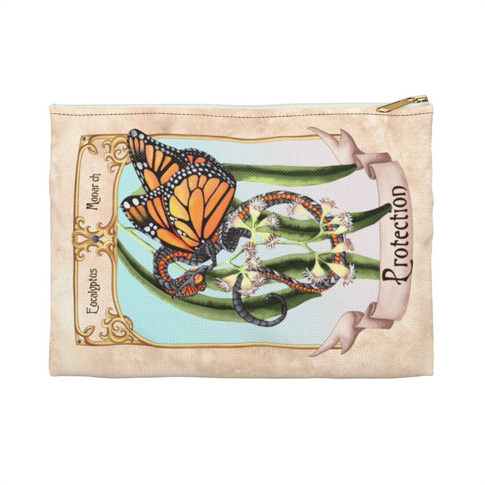 Enchanted Blossoms: Protection Dragon Accessory Pouch