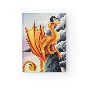 Load image into Gallery viewer, Universal Dragon Guide: Courage Rule Lined Journal