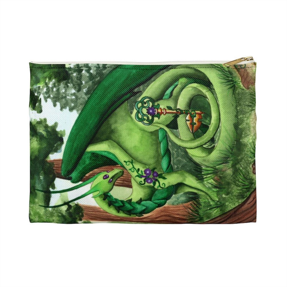 Dragon Oracle Green Dragon Accessory Pouch