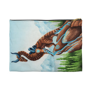 Load image into Gallery viewer, Dragon Oracle Earth Dragon Accessory Pouch