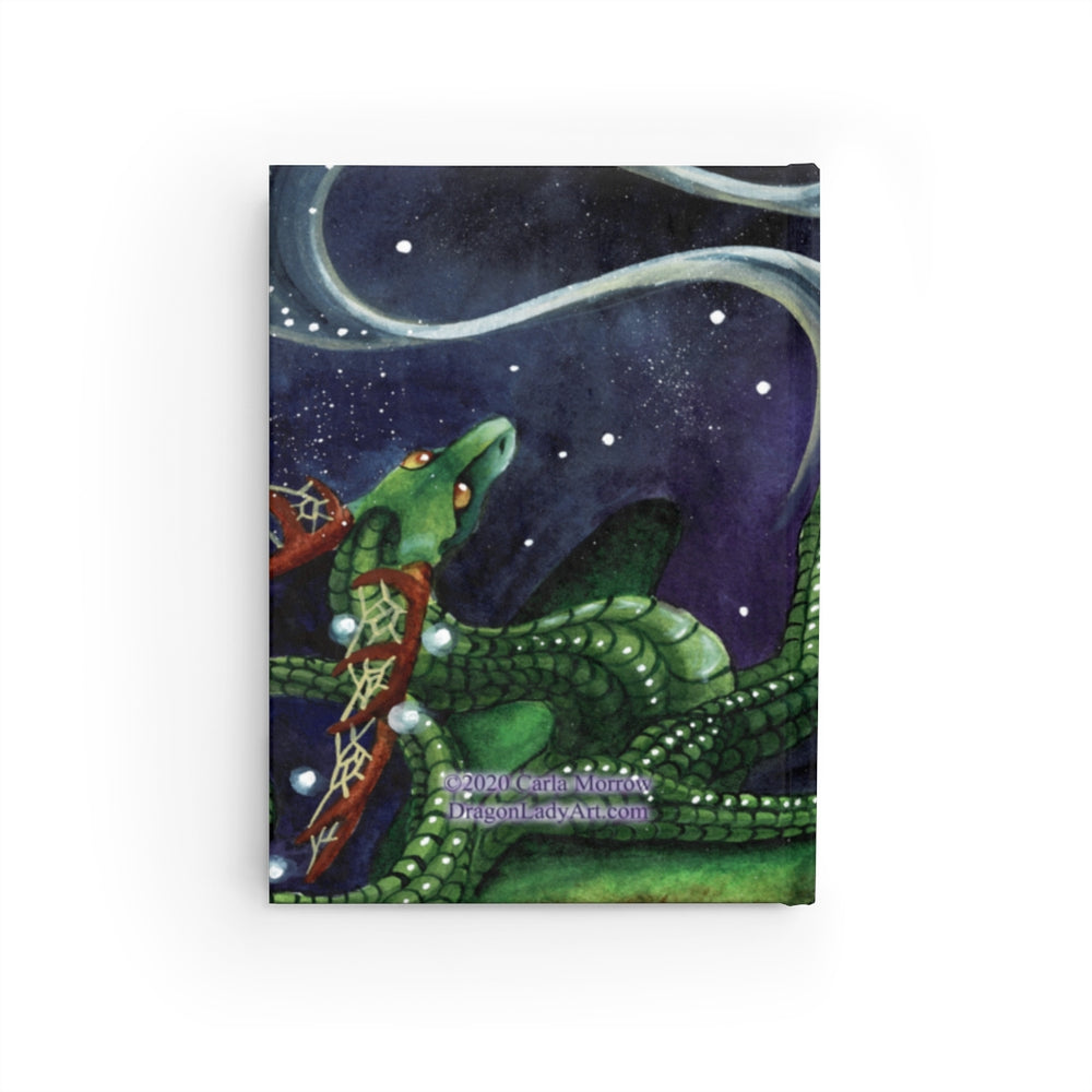 Load image into Gallery viewer, Universal Dragons Guide: Find Your Purpose Unlined Journal