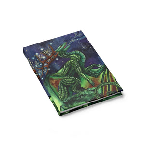 Load image into Gallery viewer, Universal Dragon Guide: Speak Your Dreams Rule Lined Journal