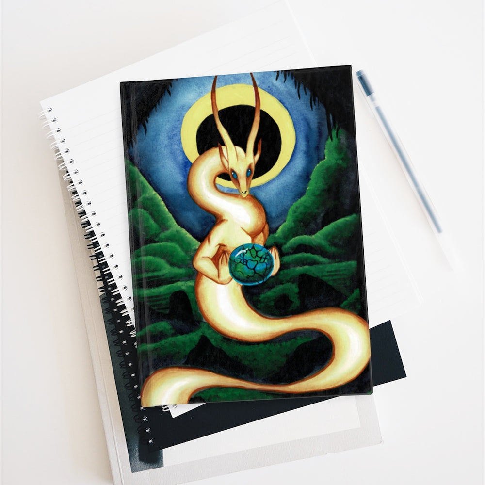 Load image into Gallery viewer, Universal Dragon Guide: Balance Rule Lined Journal