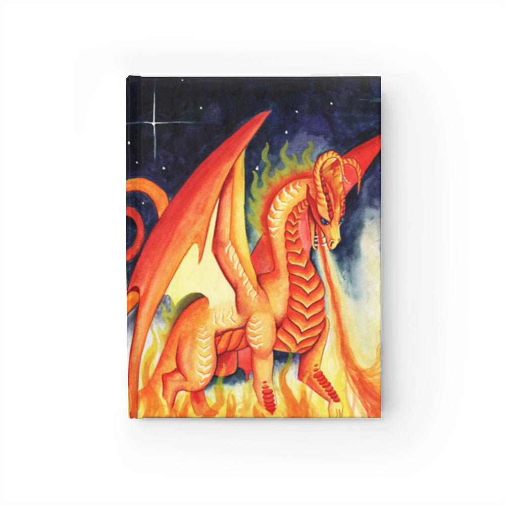 Dragon Oracle: Fire Dragon Rule Lined Journal