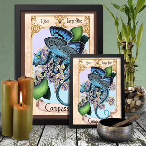 Load image into Gallery viewer, Enchanted Blossoms: Compassion Giclée Prints