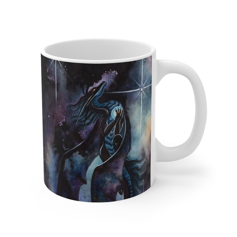 Carried by Darkness 11oz Mug