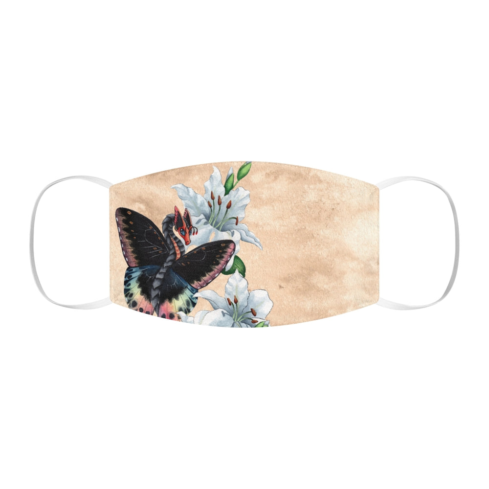 Load image into Gallery viewer, Enchanted Blossoms: Elegance Snug-Fit Polyester Face Mask