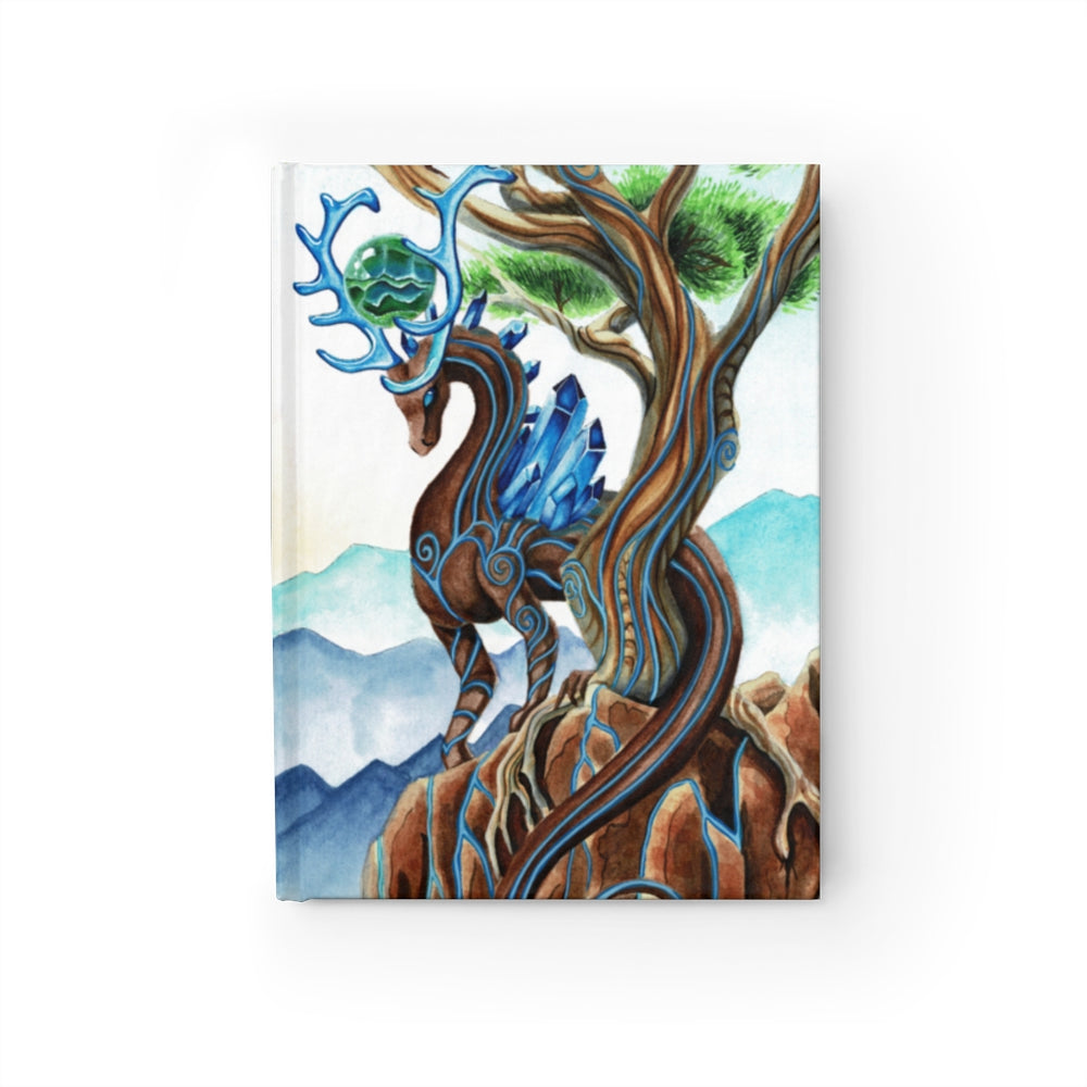 Universal Dragon Guide: Grounded Rule Lined Journal