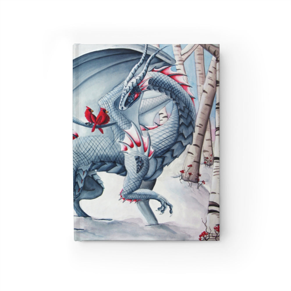 Lady of the Forest Snow Dragon Unlined Journal