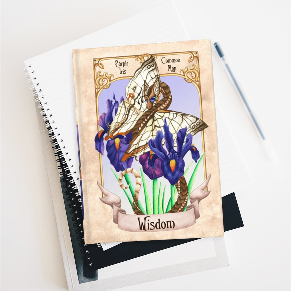 Load image into Gallery viewer, Enchanted Blossoms: Wisdom Rule Lined Journal