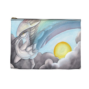 Load image into Gallery viewer, Dragon Oracle Rainbow Dragon Accessory Pouch