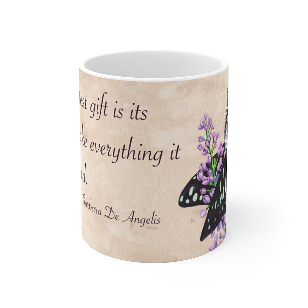 Load image into Gallery viewer, Enchanted Blossoms: Love 11oz Mug