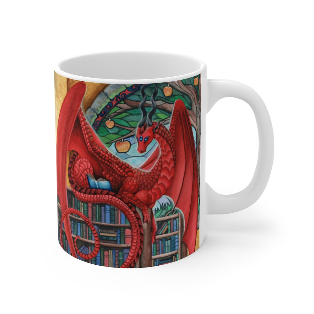 Watcher at the Gateway of Knowledge 11oz Mug