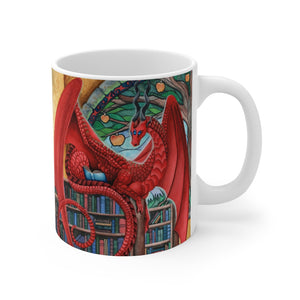 Load image into Gallery viewer, Watcher at the Gateway of Knowledge 11oz Mug