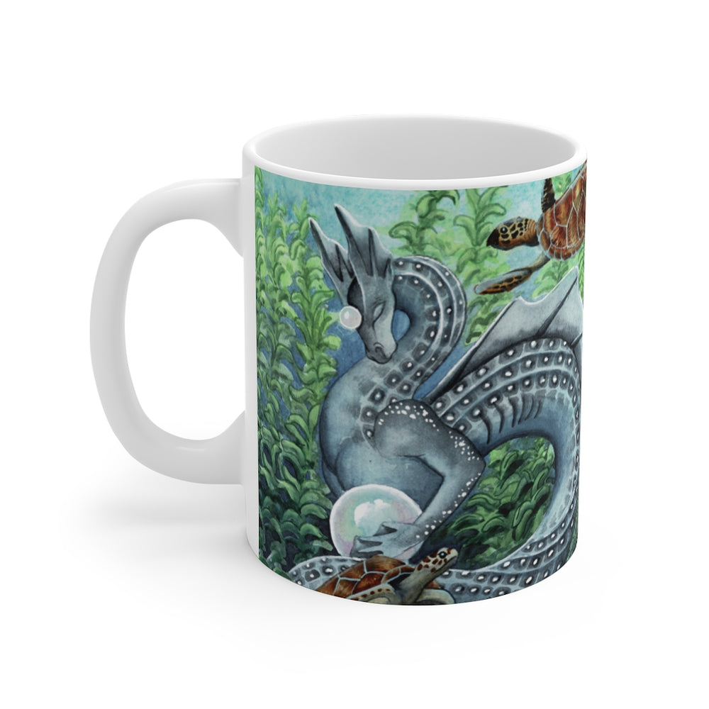 Load image into Gallery viewer, Universal Dragon Guides: Patience Dragon 11oz Mug