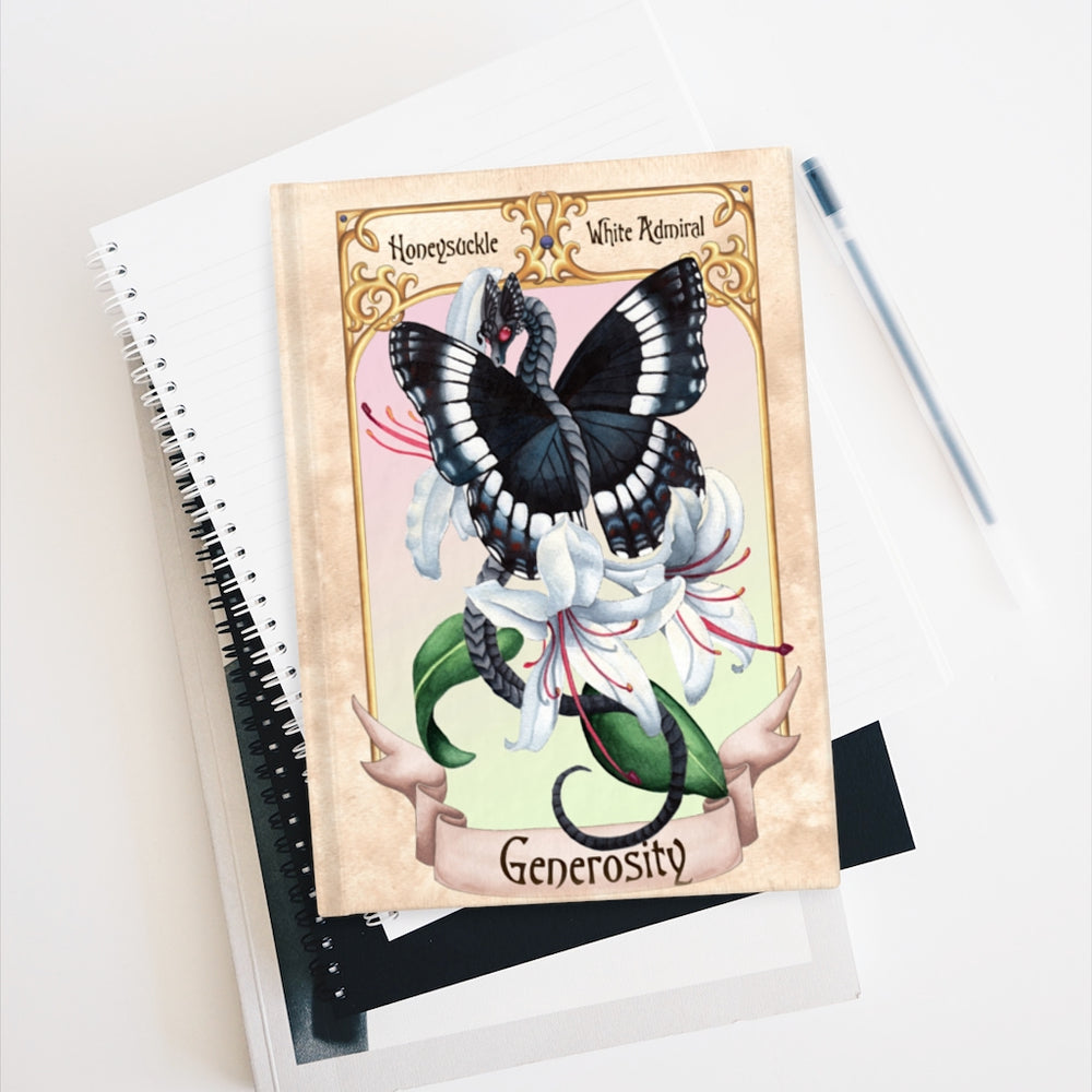 Load image into Gallery viewer, Enchanted Blossoms: Generosity Unlined Journal