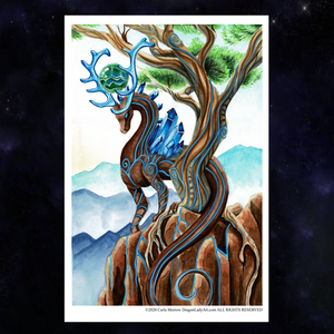 Load image into Gallery viewer, Universal Dragon Guide: Grounding Giclée Prints