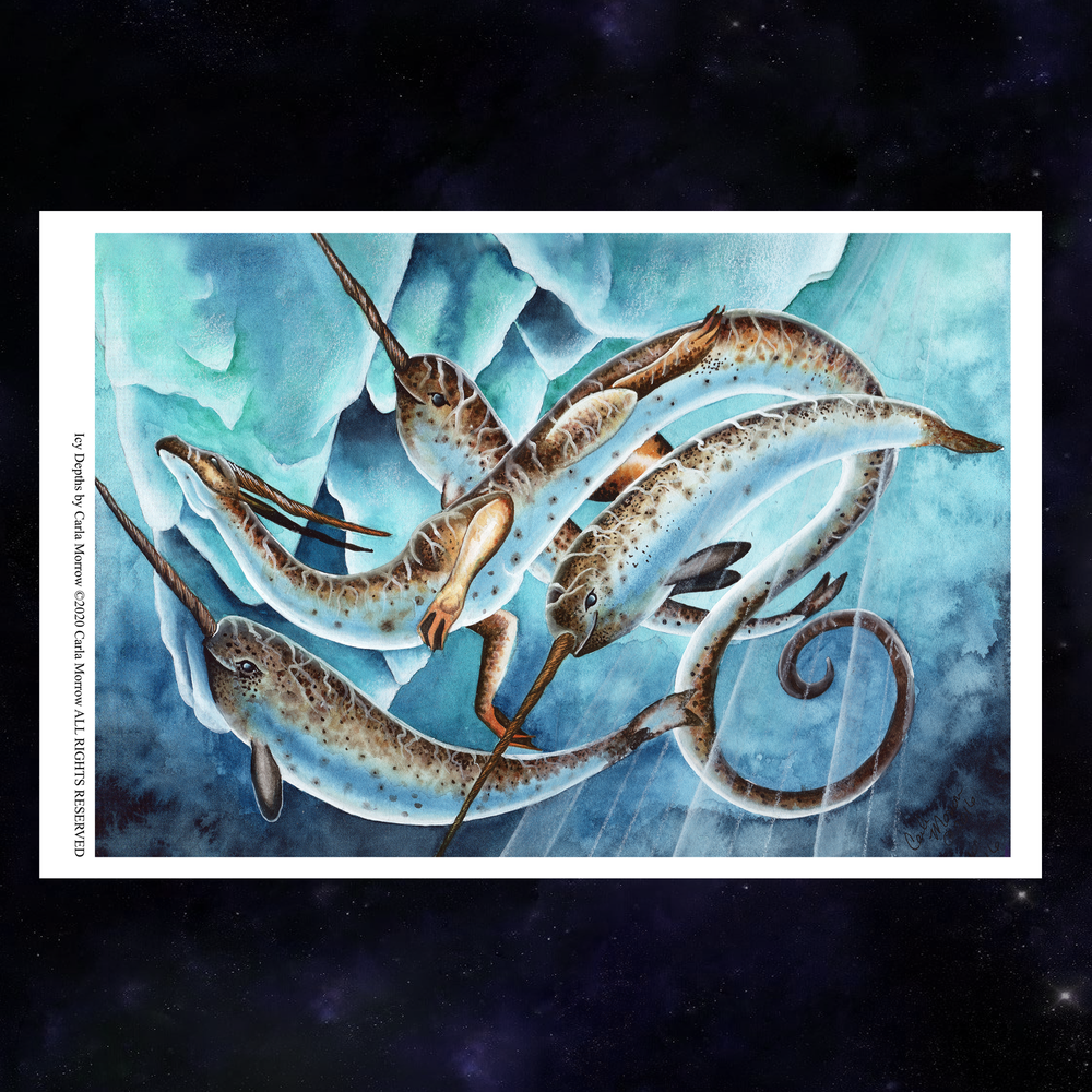 Load image into Gallery viewer, Icy Depths Giclée Prints