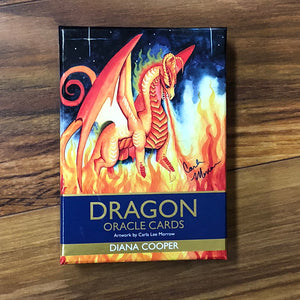 Load image into Gallery viewer, Dragon Oracle Deck published by Hay House