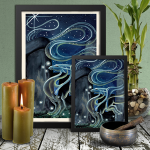 Load image into Gallery viewer, Universal Dragon Guide: Seek Guidance Giclée Prints
