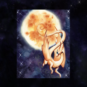 Load image into Gallery viewer, Dragon Oracle: Solar Dragon Giclée Print