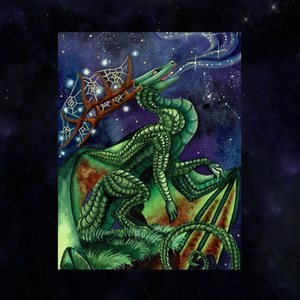 Load image into Gallery viewer, Universal Dragon Guide: Speak Your Truth Giclée Prints