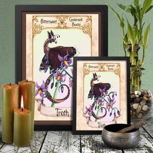 Load image into Gallery viewer, Enchanted Blossoms: Truth Giclée Prints