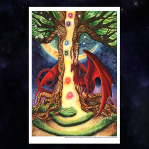 Load image into Gallery viewer, Watcher at the Gateway of Awakening Giclée Prints