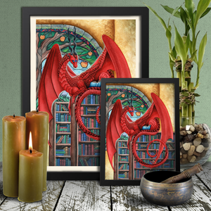 Load image into Gallery viewer, Watcher at the Gateway of Knowledge Giclée Prints
