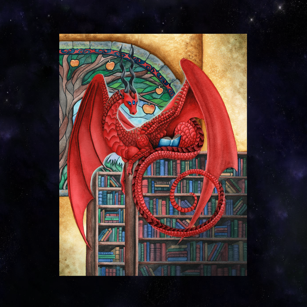 SPOTLIGHT PRINT: Watcher at the Gateway of Knowledge Giclée Prints