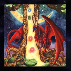 Load image into Gallery viewer, Watcher at the Gateway of Awakening Tarot Wrap/Altar Cloth