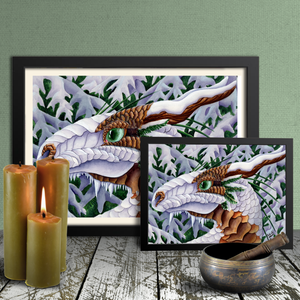 Load image into Gallery viewer, Winter's Silent Steps Giclée Prints