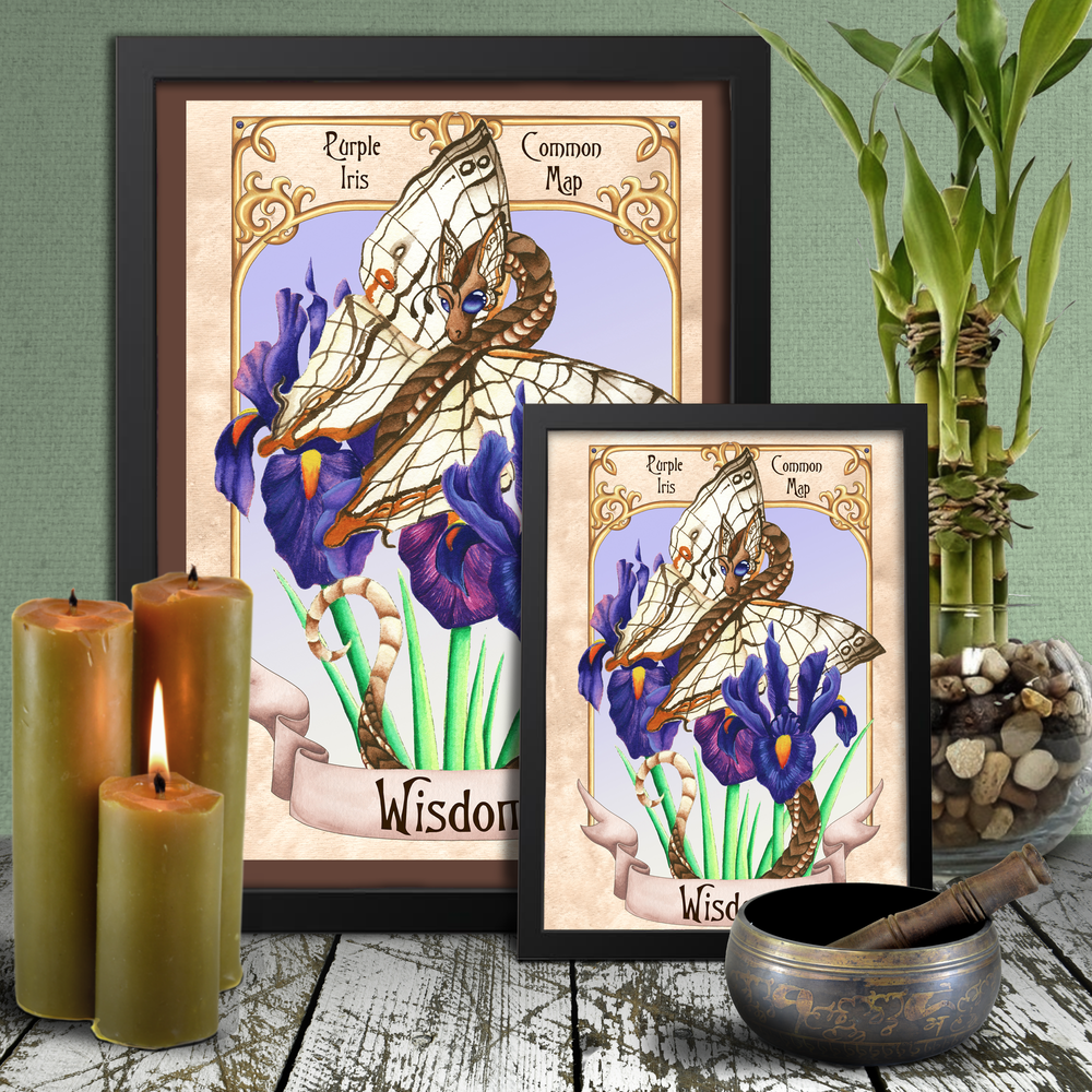 Load image into Gallery viewer, Enchanted Blossoms: Wisdom Giclée Prints