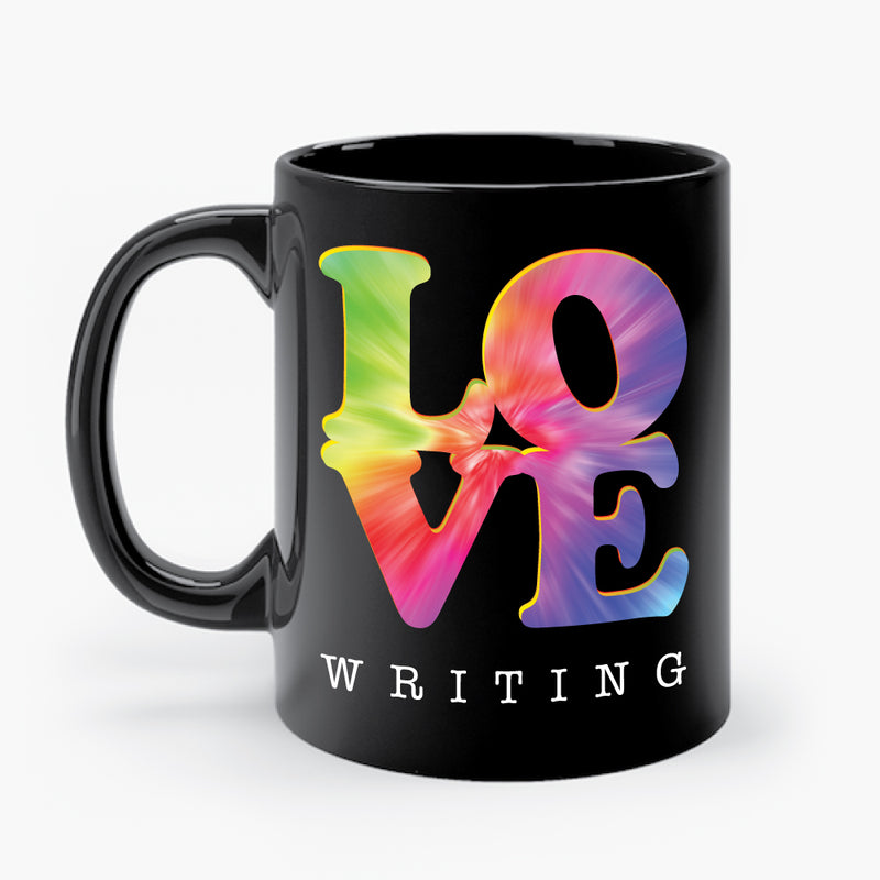 LOVE WRITING mug