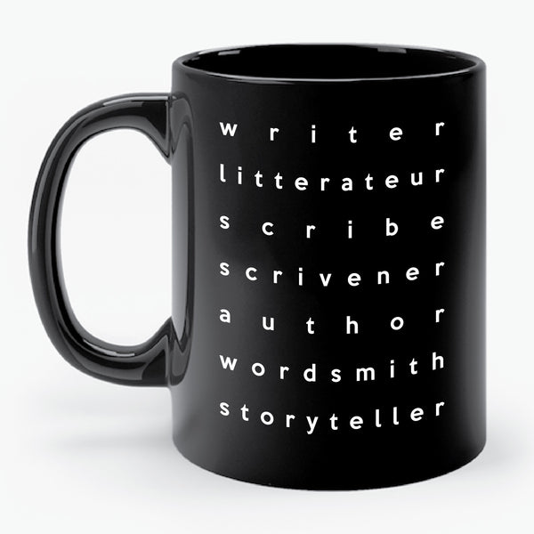 WRITER LITTERATEUR... mug