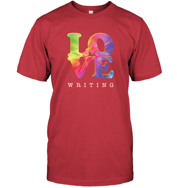 LOVE WRITING t-shirt