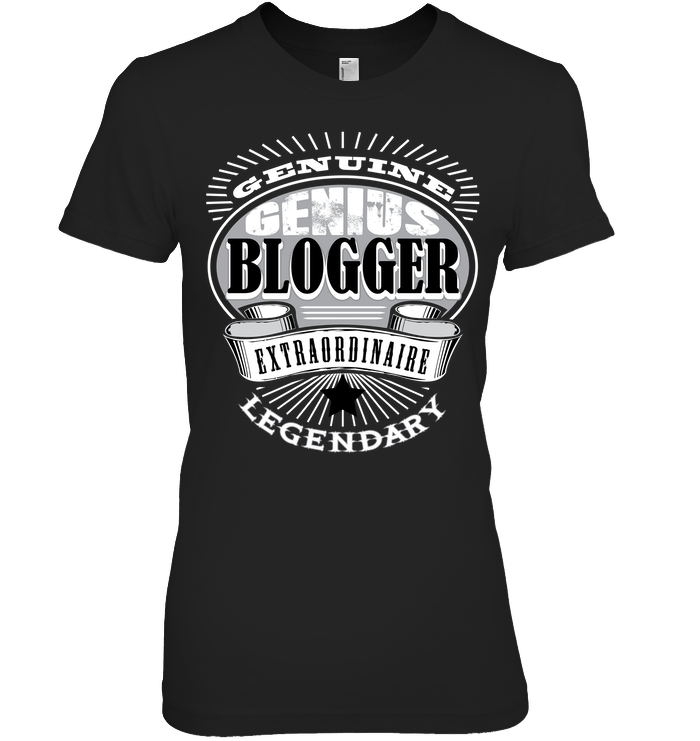 BLOGGER EXTRAORDINAIRE t-shirt