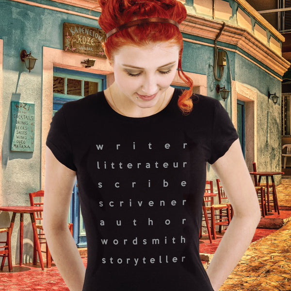 WRITER LITTERATEUR... t-shirt
