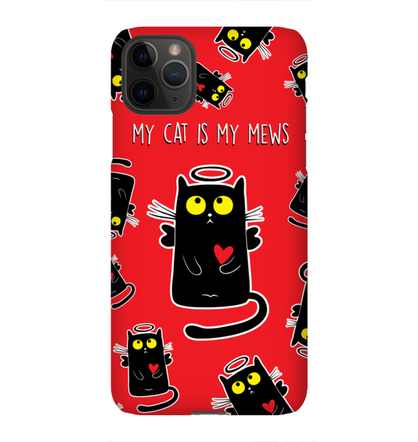 MY CAT IS MY MEWS phone case