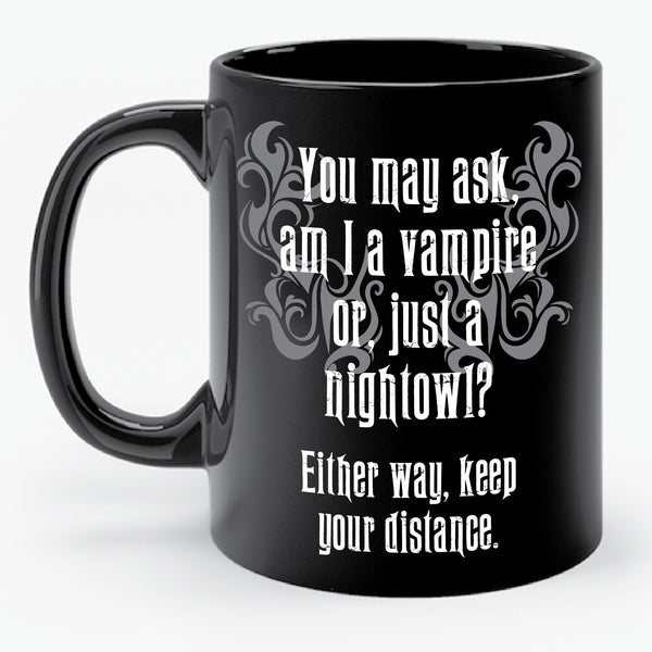 NIGHTOWL vs. VAMPIRE mug