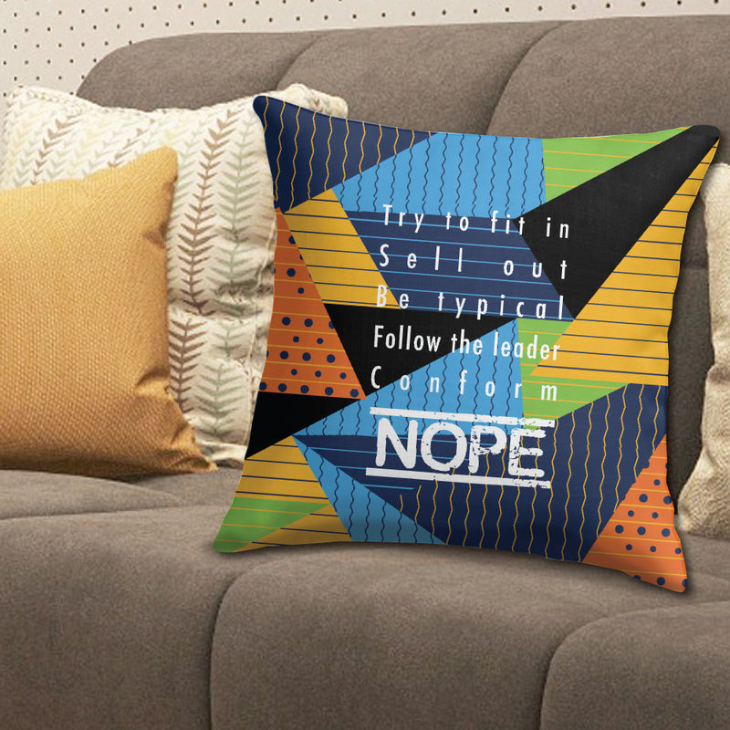 NONCONFORMIST throw pillow