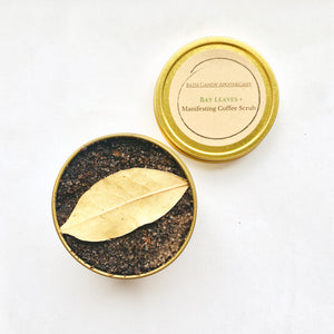Bay Leaves Coffee Scrub- Manifesting Tool