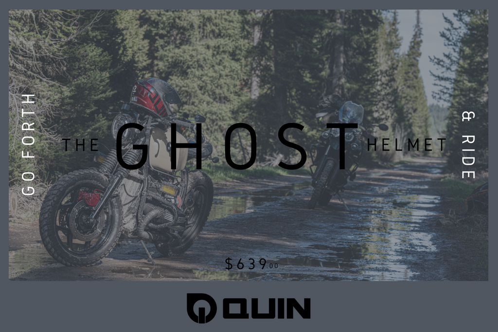 Ghost Helmet | Quin Design Gift Card